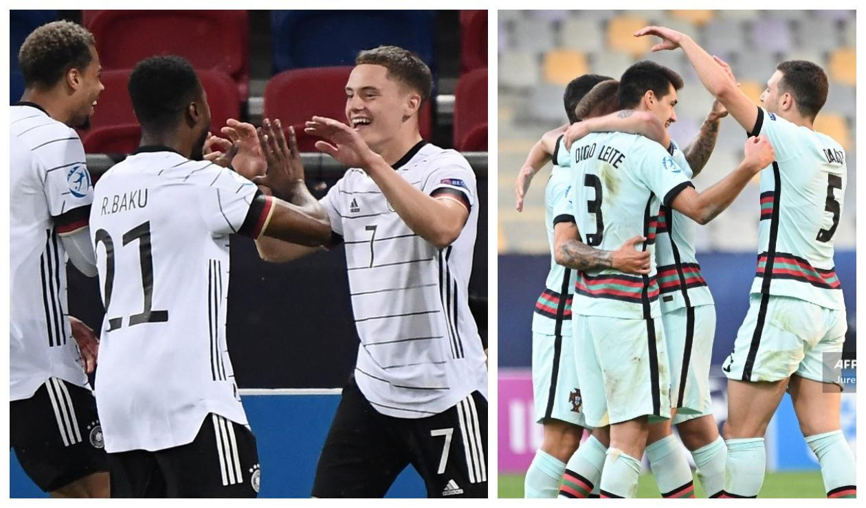 Alemania sub 21 - Portugal sub 21
