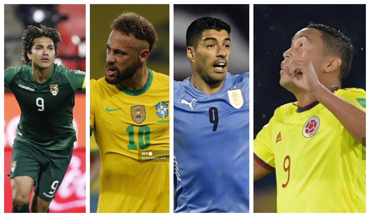Goleadores de las Eliminatorias Sudamericanas 2021