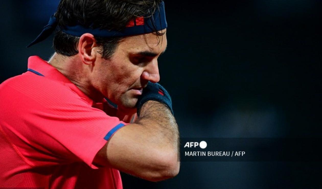 Federer, en el Roland Garros