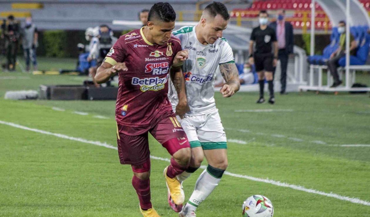 Deportes Tolima vs La Equidad - Liga Betplay 2021