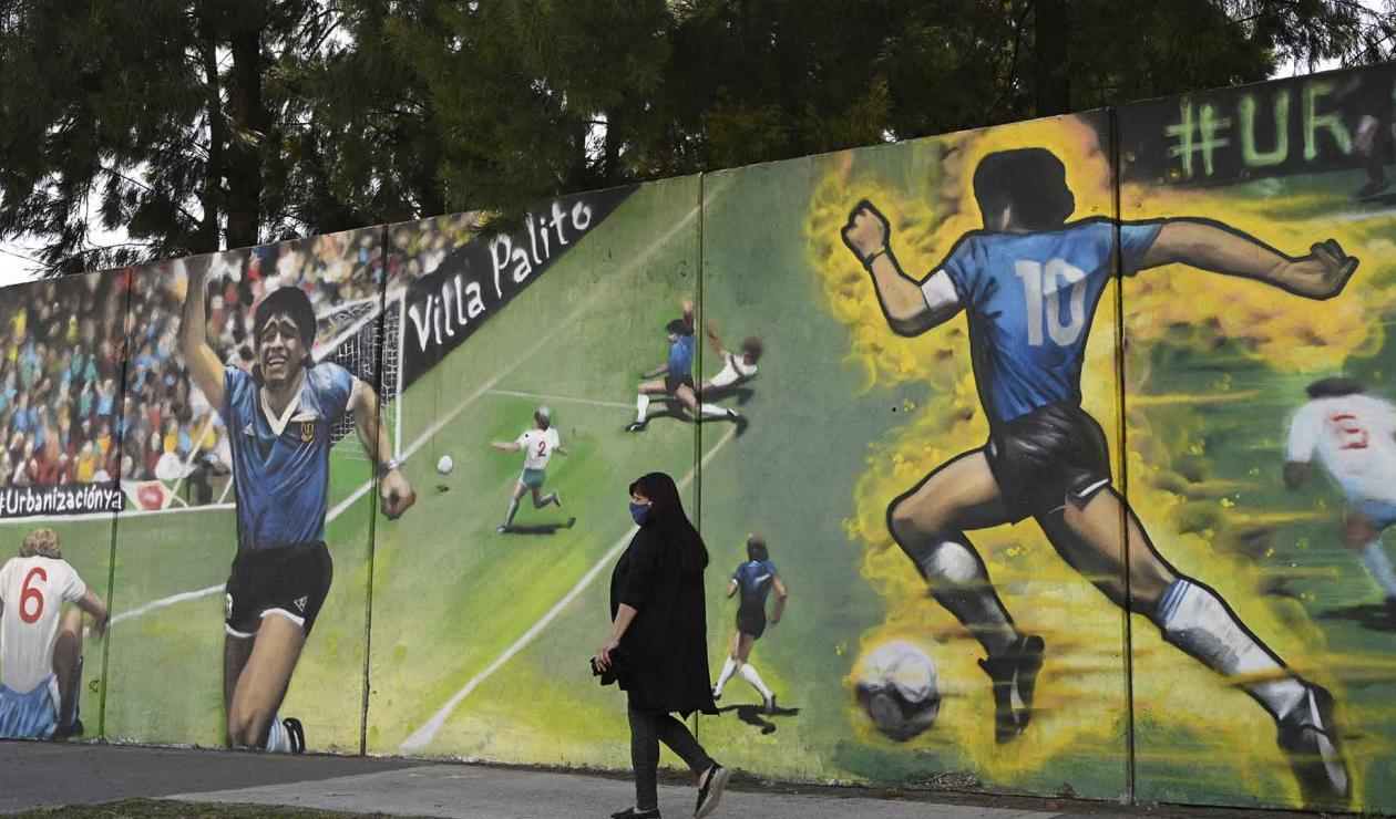 Gol del Siglo, Maradona