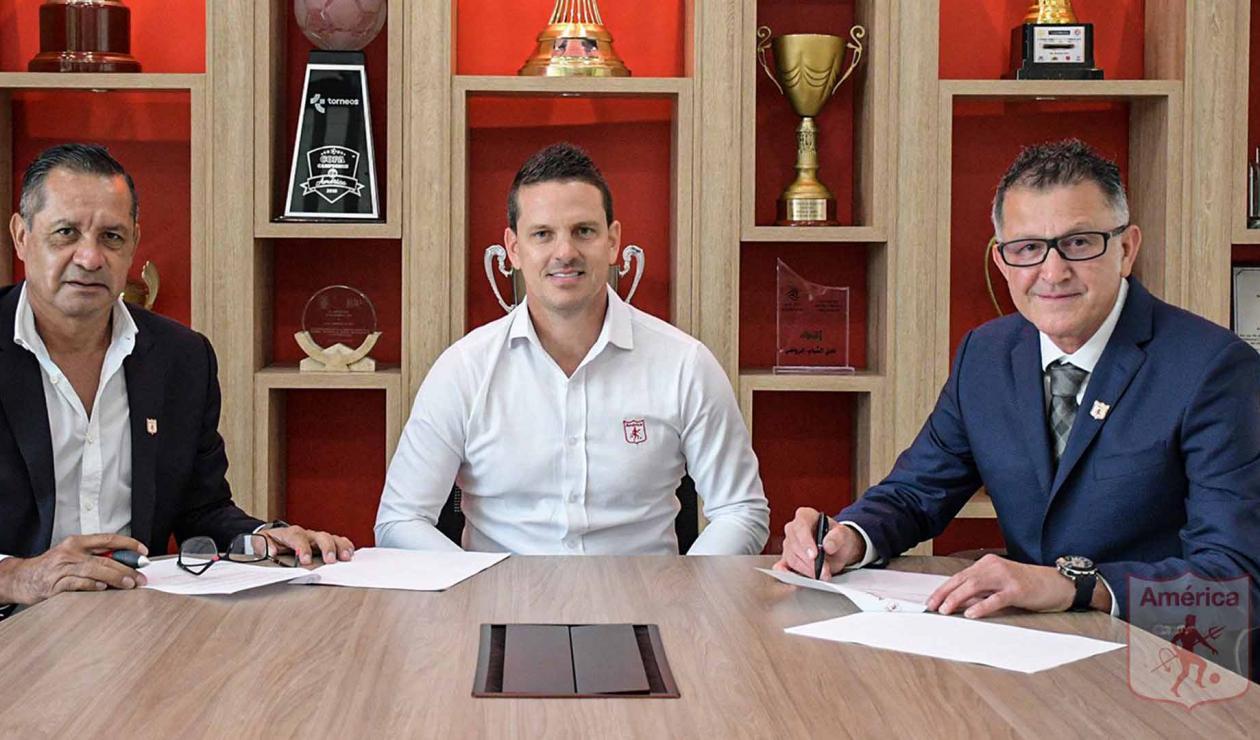 Osorio, presentación en América