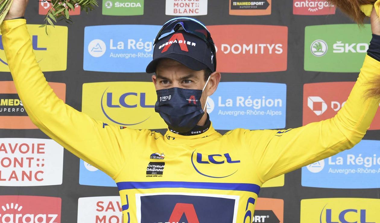 Richie Porte, campeón de la edición 2021 del Critérium del Dauphiné