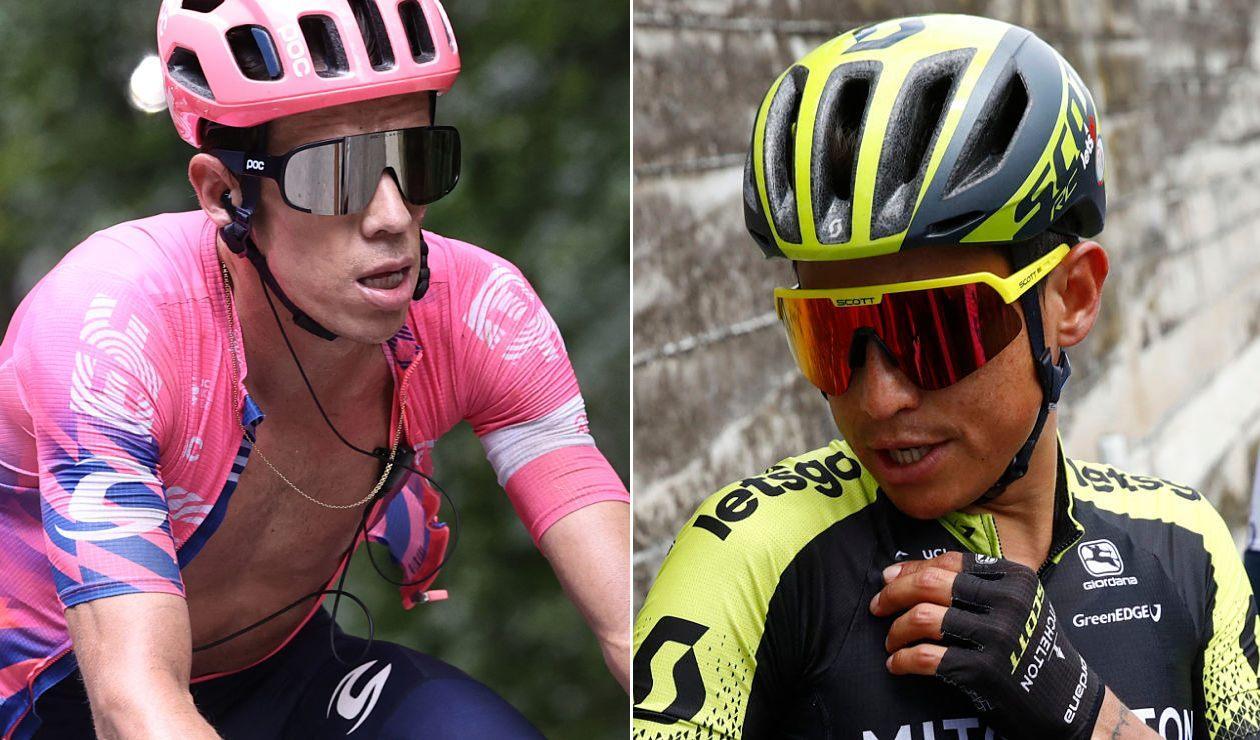 Rigoberto Urán, Esteban Chaves, Vuelta a Suiza