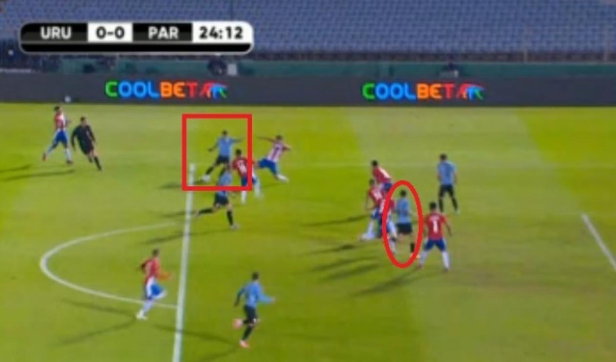 Uruguay vs Paraguay, polémica arbitral