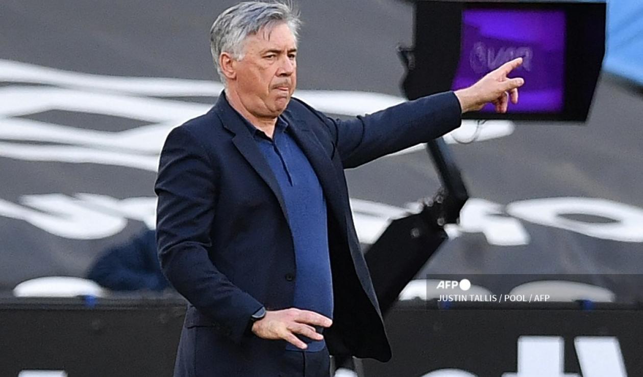 Carlo Ancelotti, técnico de Real Madrid