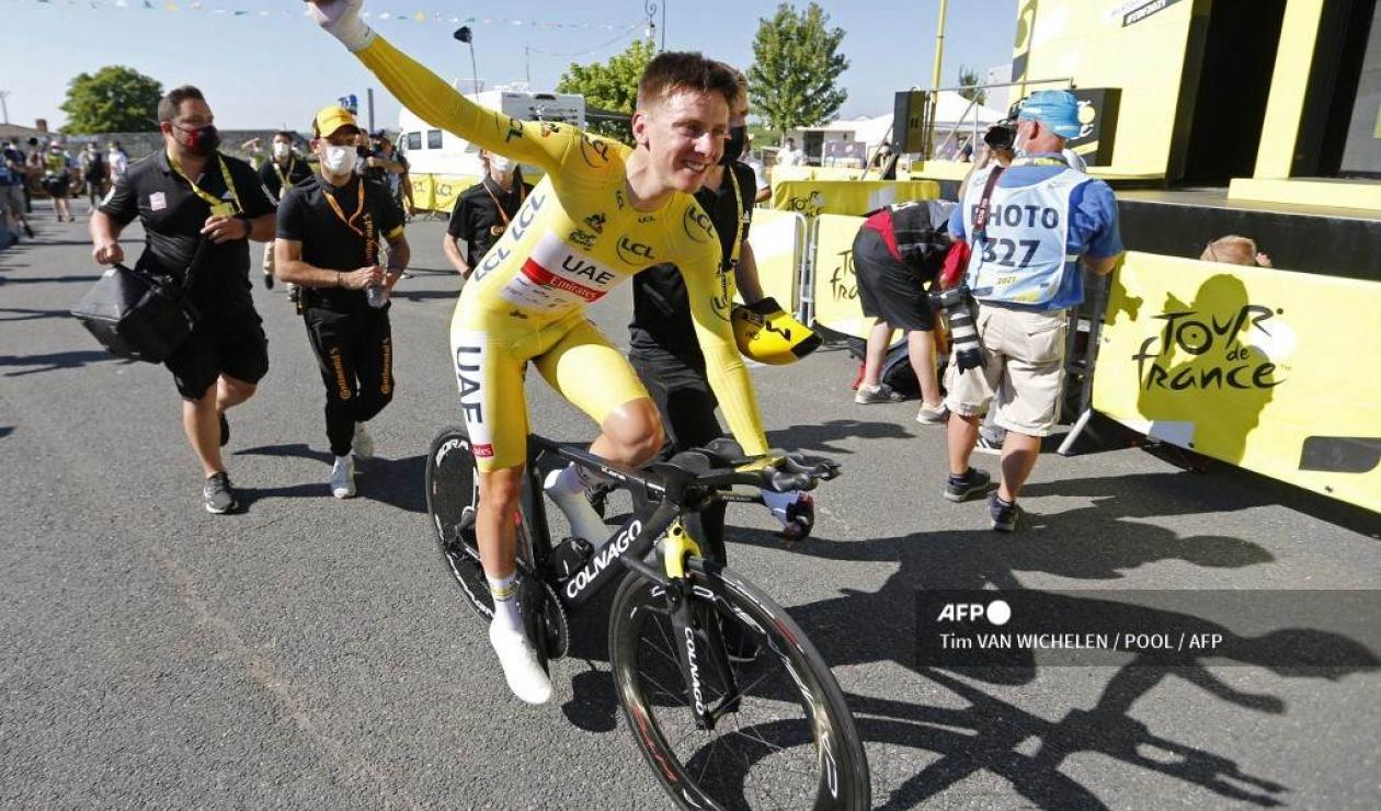 Tadej Pogacar - Tour de Francia 2021