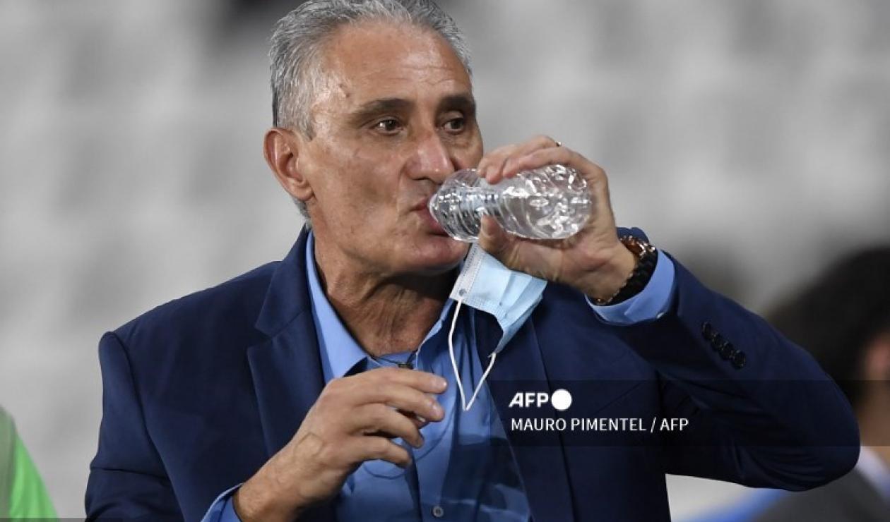 Tite, técnico de Brasil