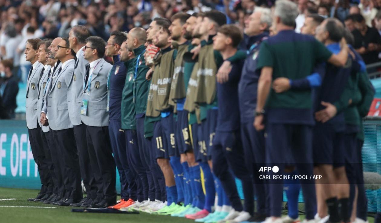 Himno de Italia en la Eurocopa