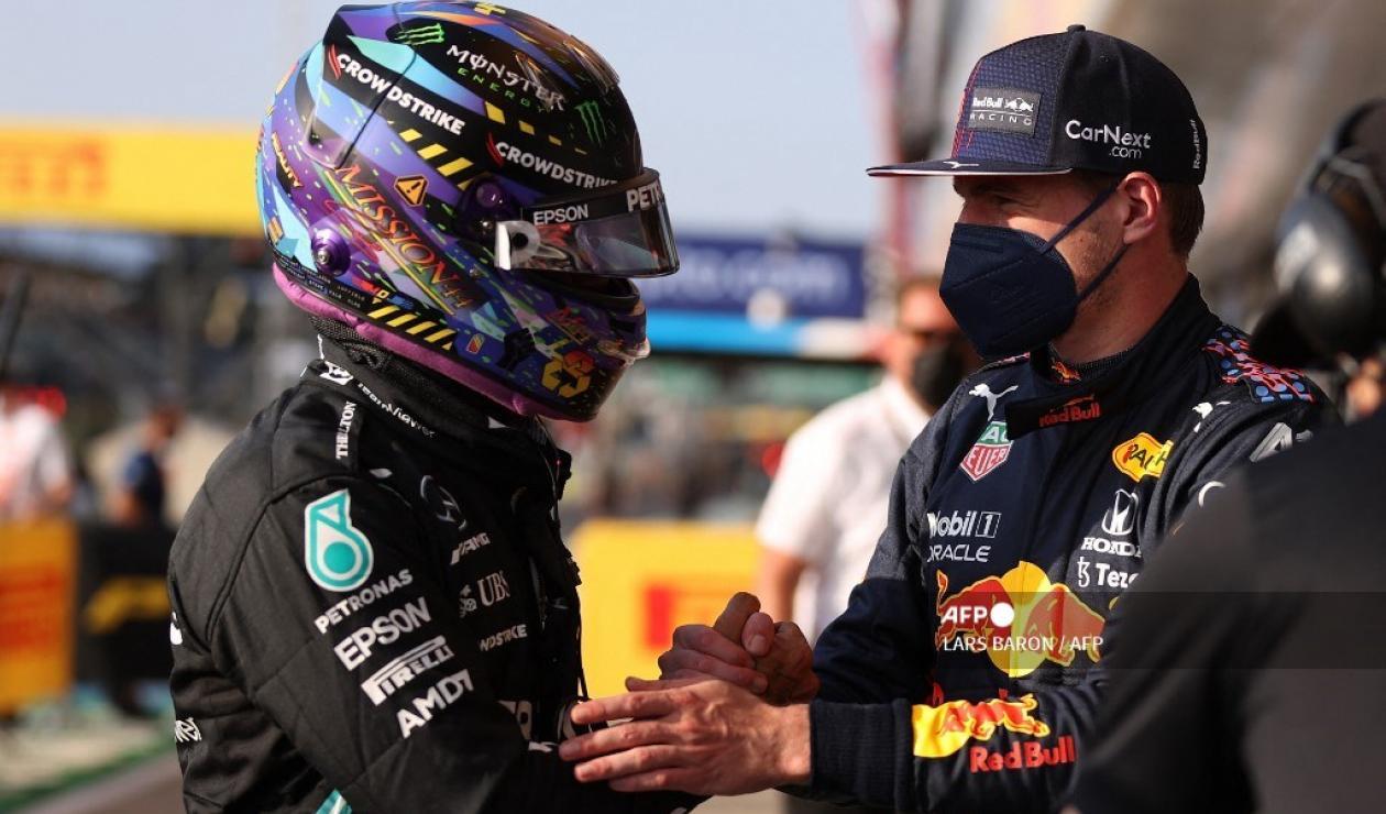 Hamilton y Verstappen - Fórmula 1