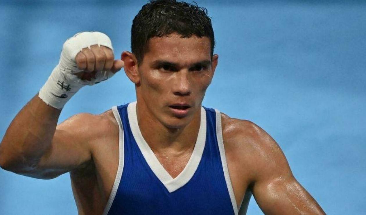 Céiber Ávila, boxeador colombiano