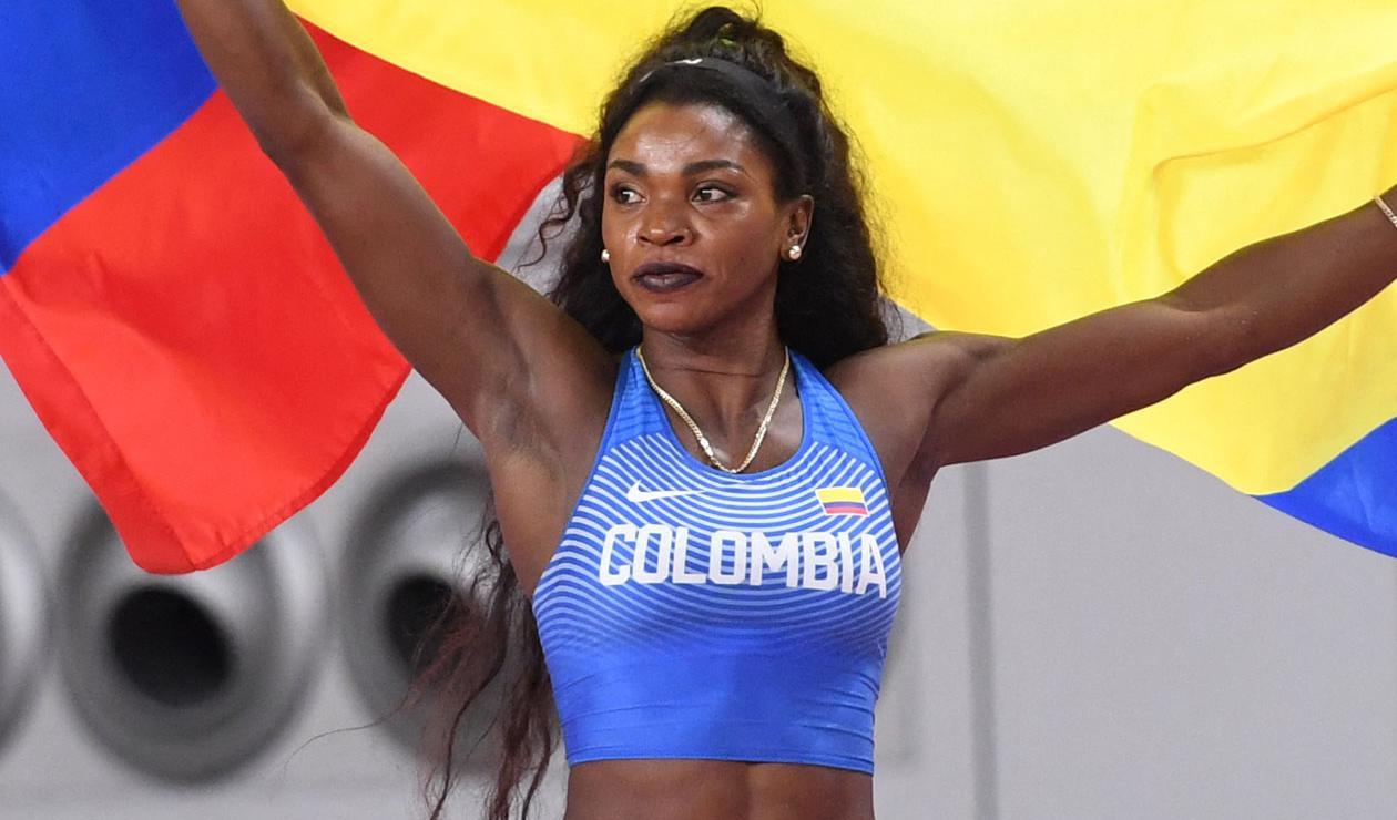 Caterine Ibarguen, Salto triple, atletismo, Juegos Olímpicos 2021