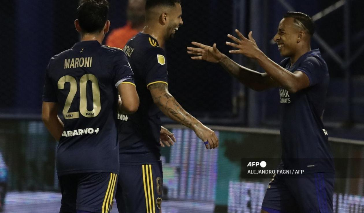 Edwin Cardona y Sebastián Villa; Boca Juniors