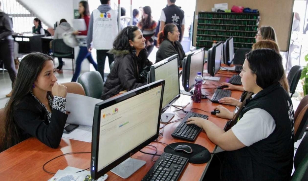 Oferta de empleo en Bogotá