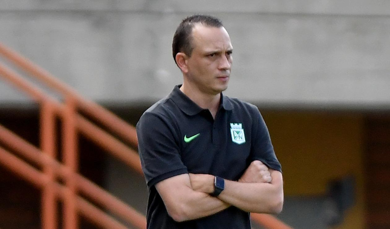 Alejandro Restrepo, DT Atlético Nacional 2021-II