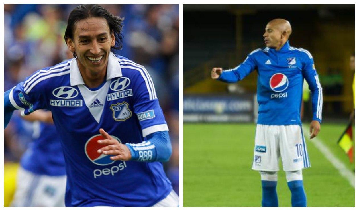 Rafael Robayo y Jonathan Estrada - Millonarios