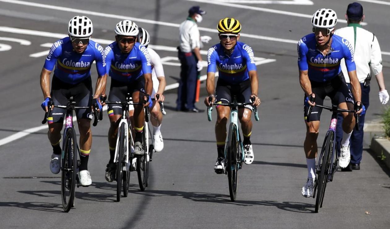 Juegos Olímpicos 2021, selección Colombia, Nairo Quintana, Rigoberto Urán