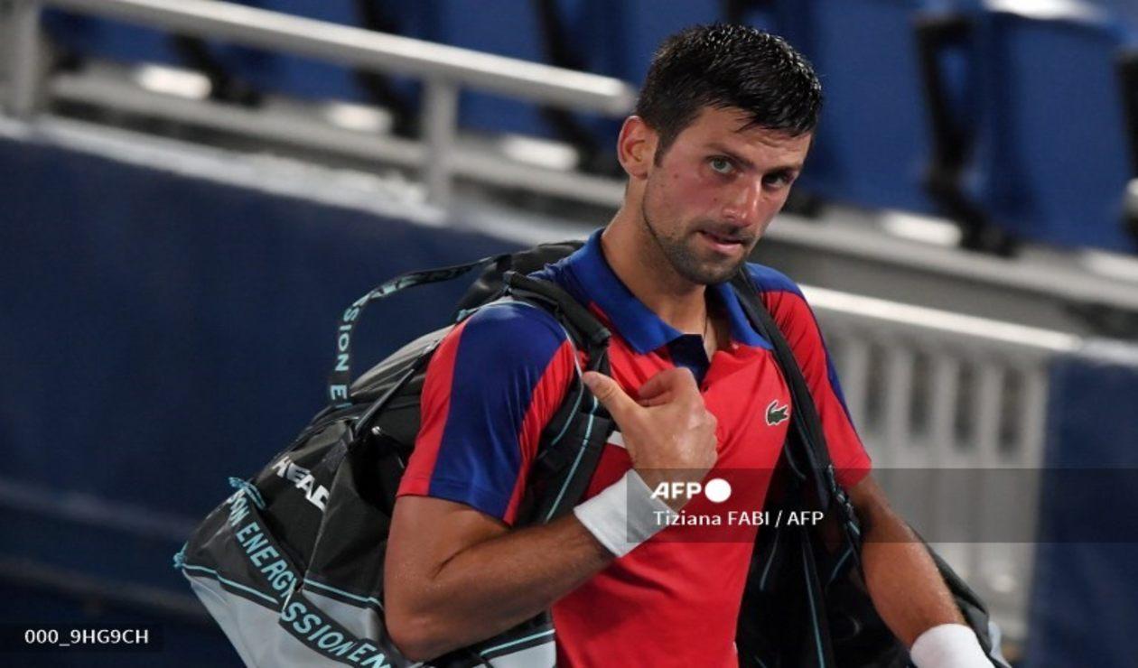 Novak Djokovic jugará por el bronce en los Juegos Olímpicos de Tokio