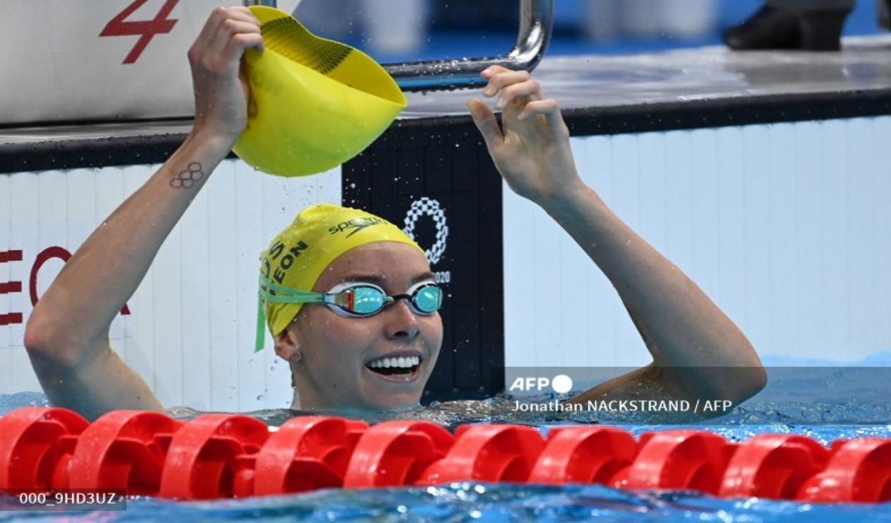 Emma McKeon, nadadora australiana