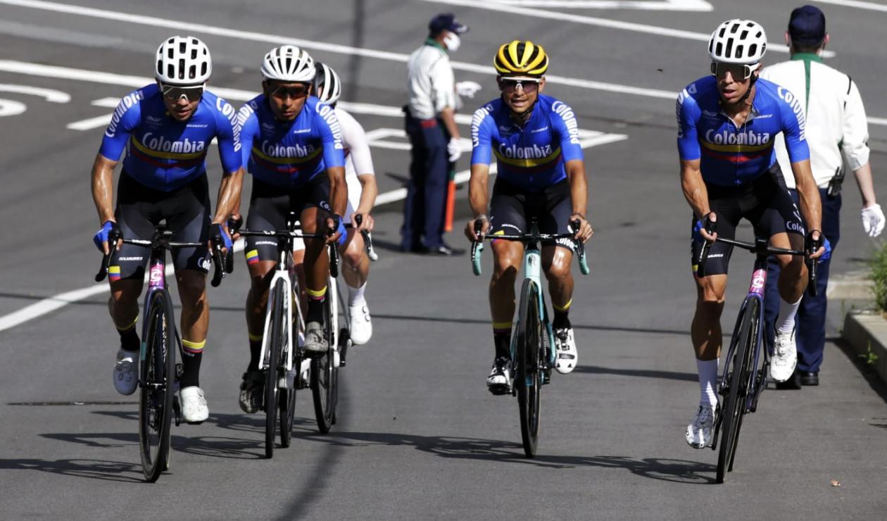 Equipo ciclismo de Colombia Juegos Olímpicos