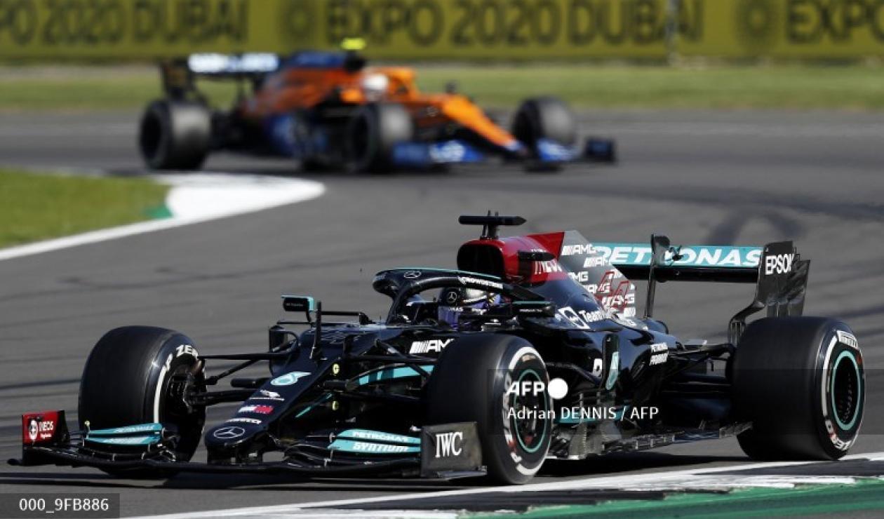 Lewis Hamilton ganó el GP de Gran Bretaña