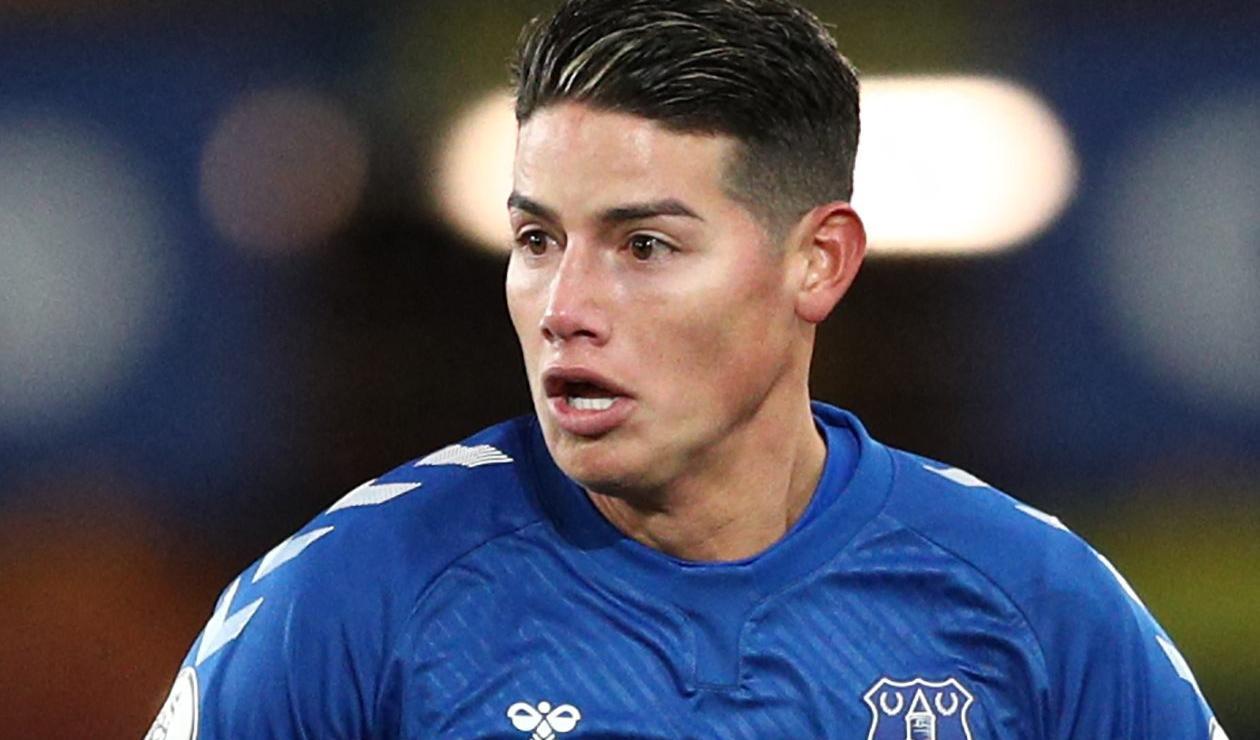 James Rodríguez, Everton 2021, Premier League