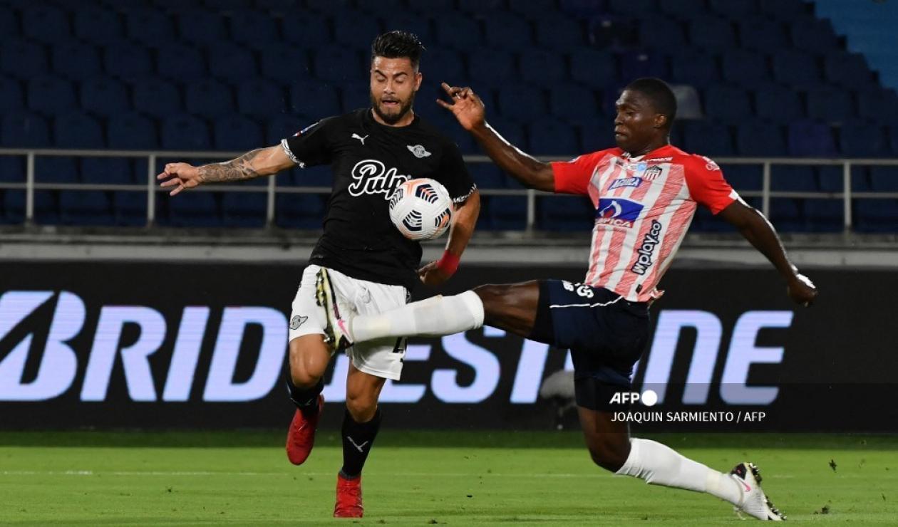 Junior vs Libertad; Copa Sudamericana 2021-II