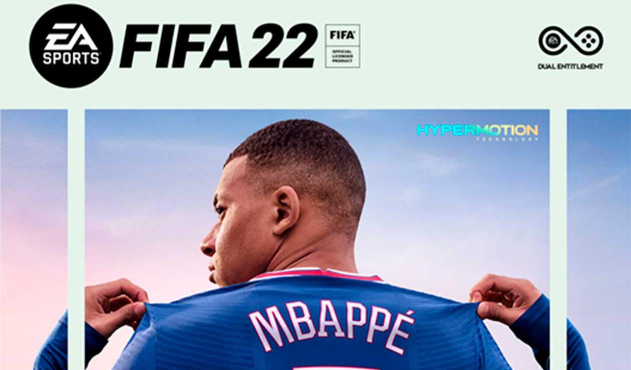 Kylian Mbappe protagoniza la portada de FIFA 22