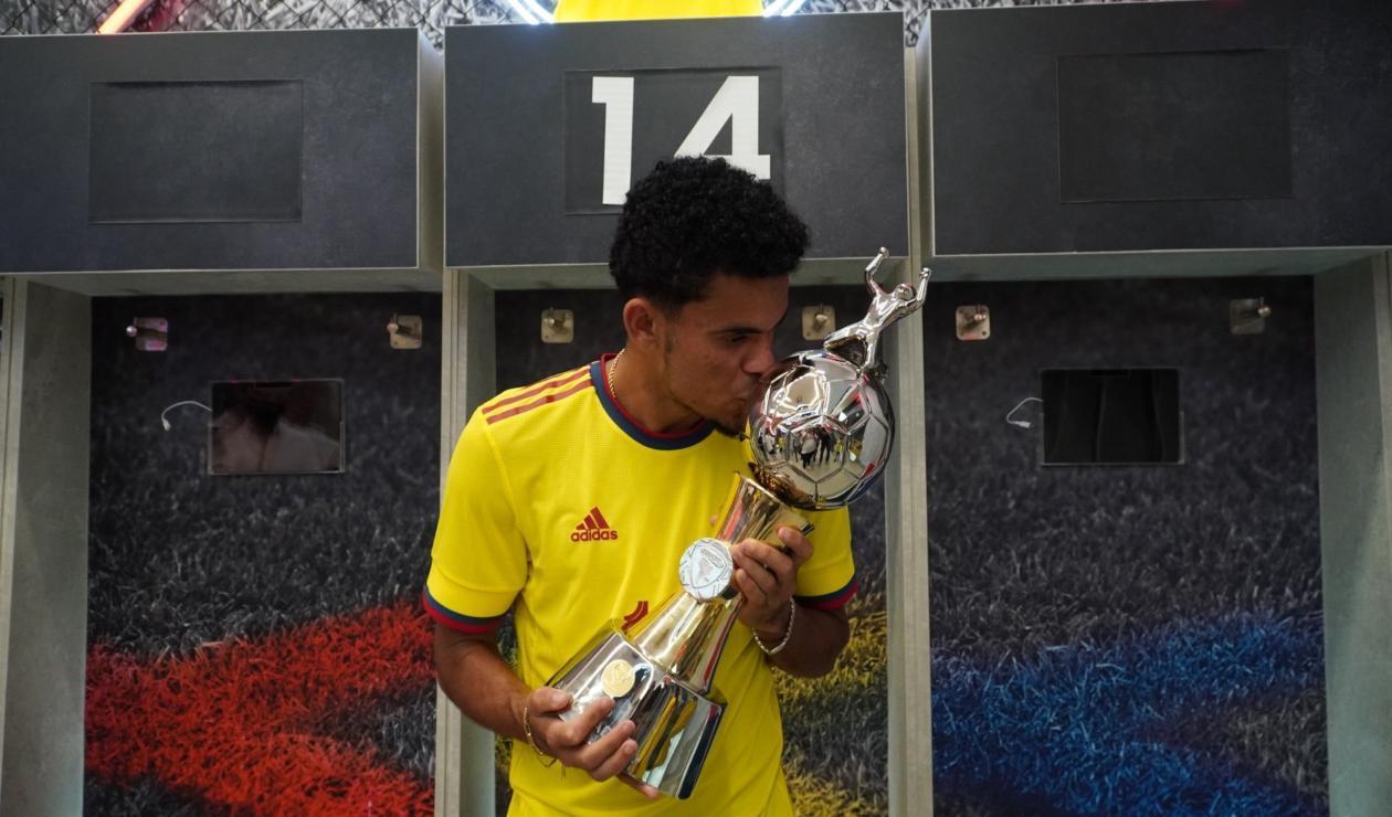 Luis Díaz, goleador de la Copa América