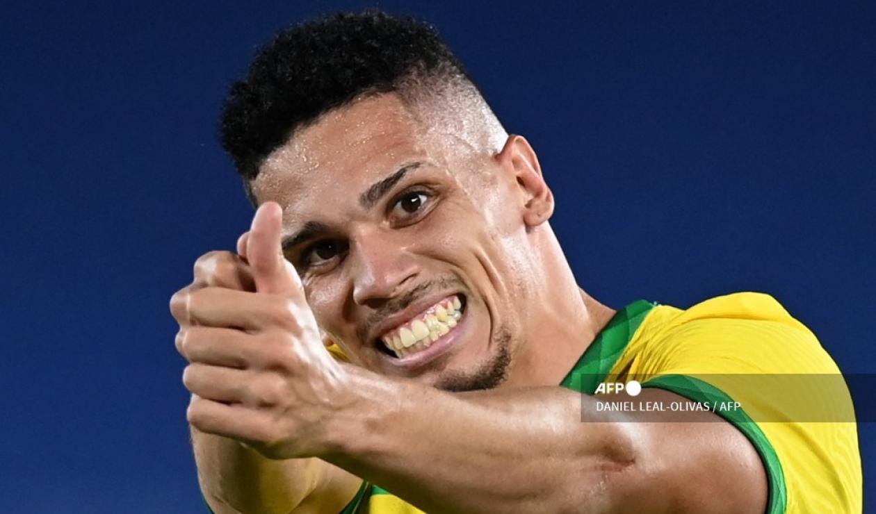 Paulinho jugador de Brasil, Juegos Olímpicos 2021