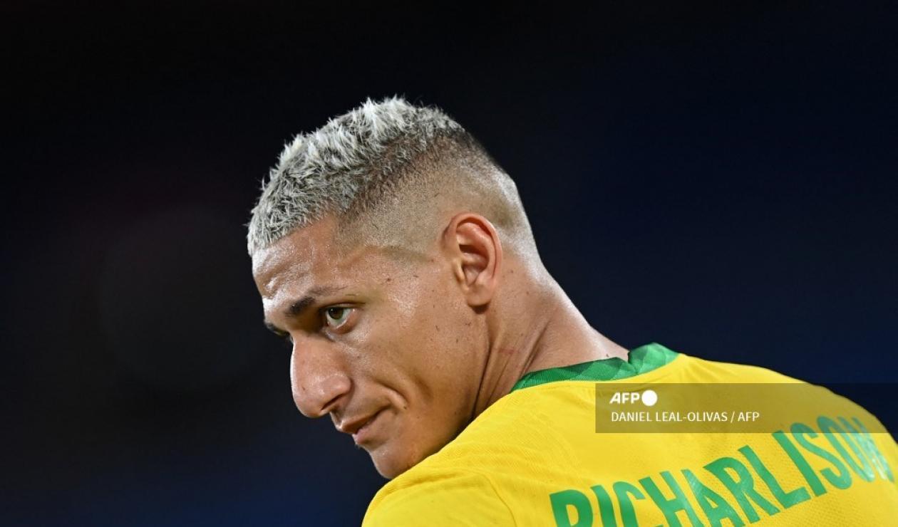 Richarlison, jugador de Brasil