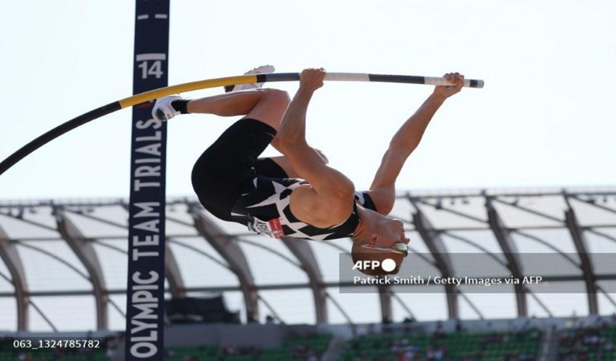 Sam Kendricks, atleta de Estados Unidos