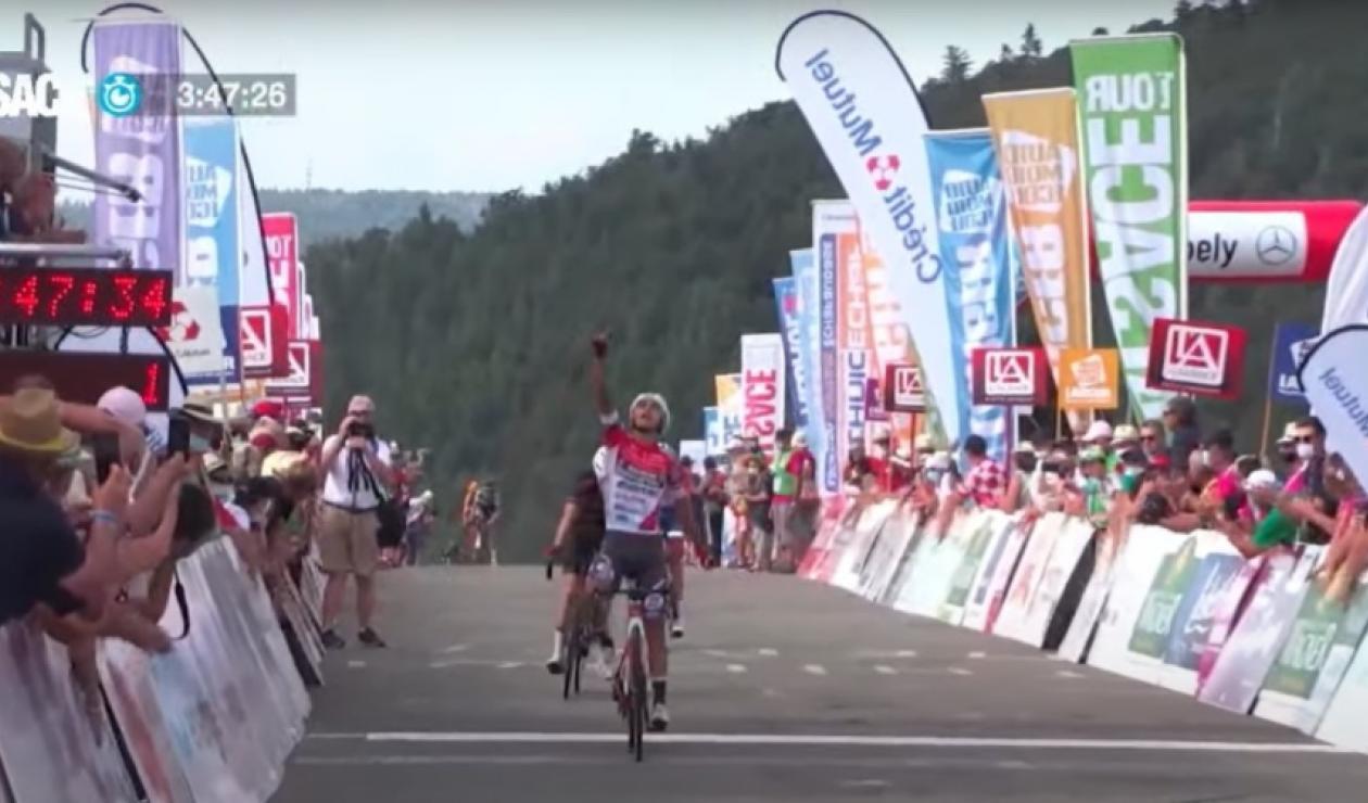 Santiago Umba, ciclista colombiano del Androni