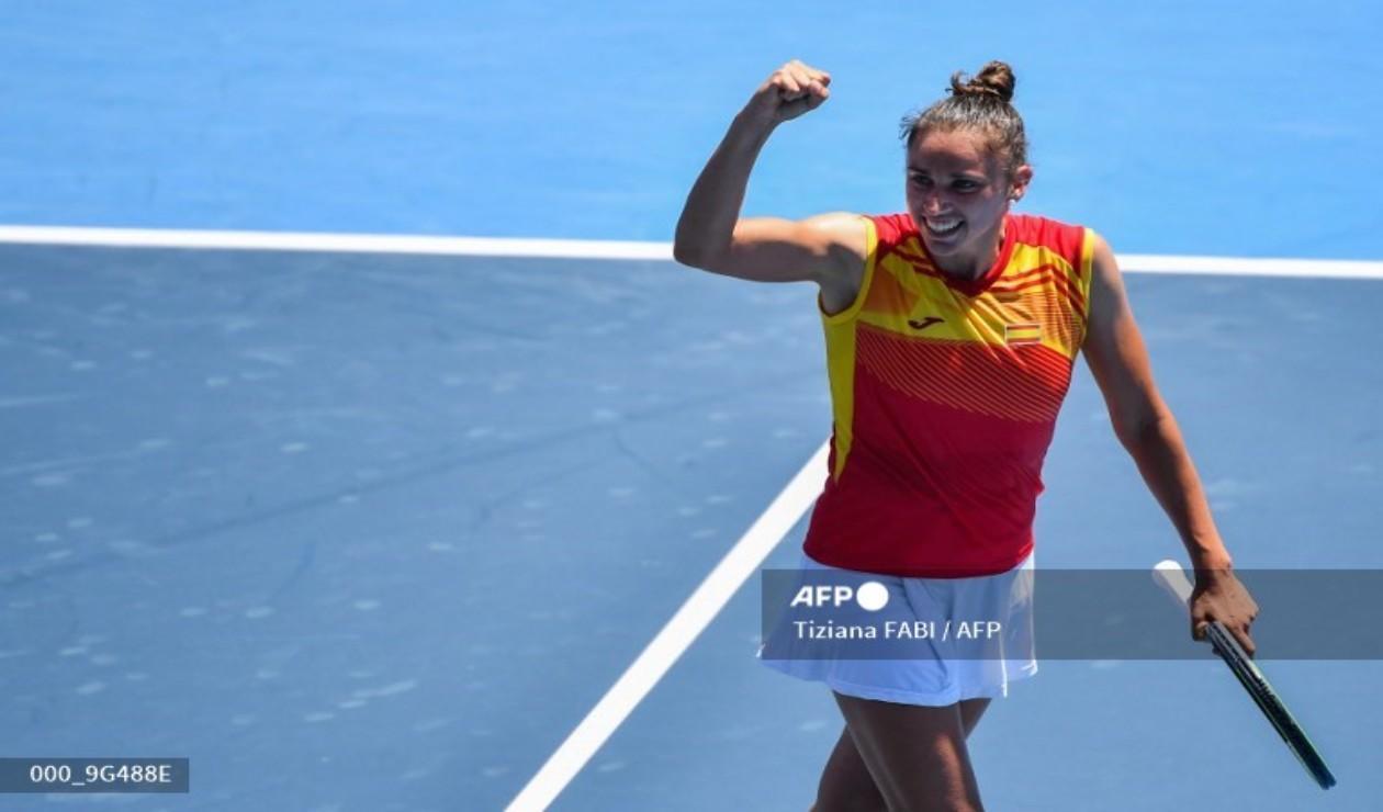 Sara Sorribes, tenista española en los Juegos Olímpicos