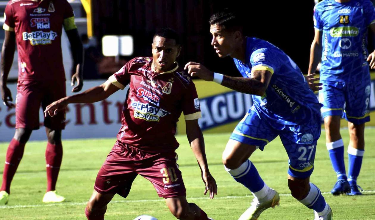 Deportes Tolima vs Alianza Petrolera