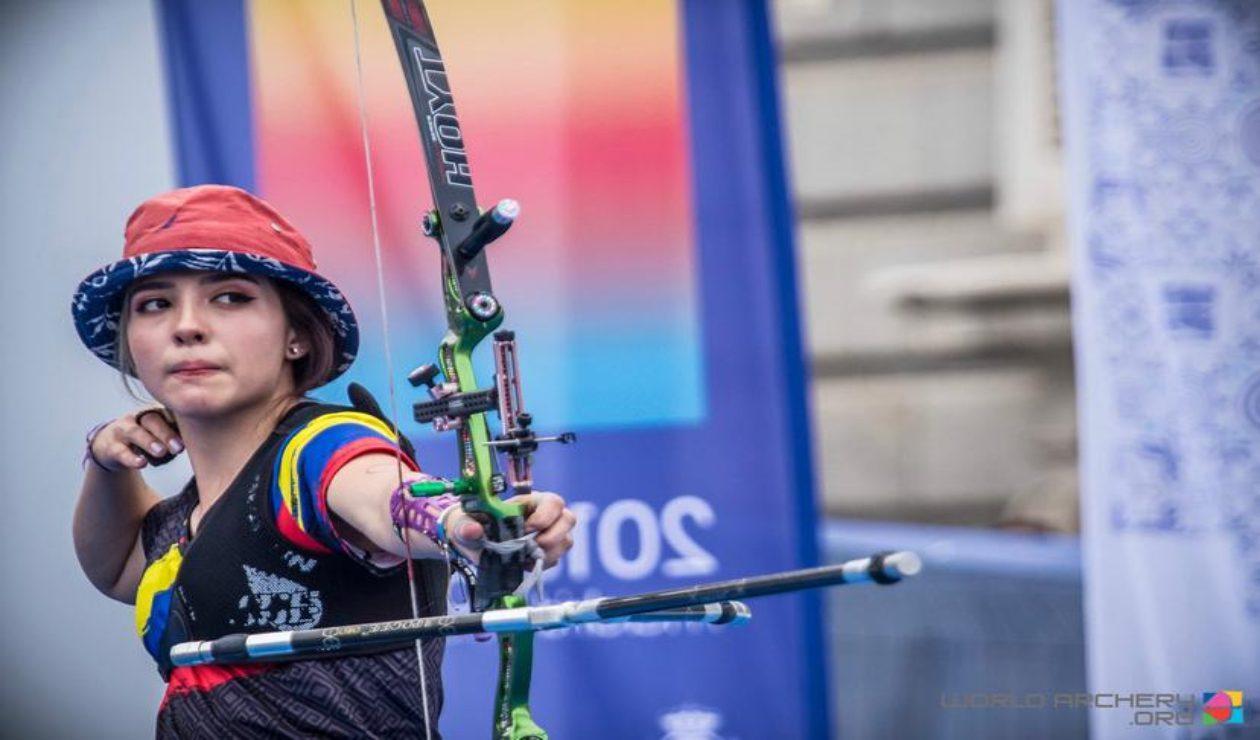 Valentina Acosta, atleta colombiana en Juegos Olímpicos