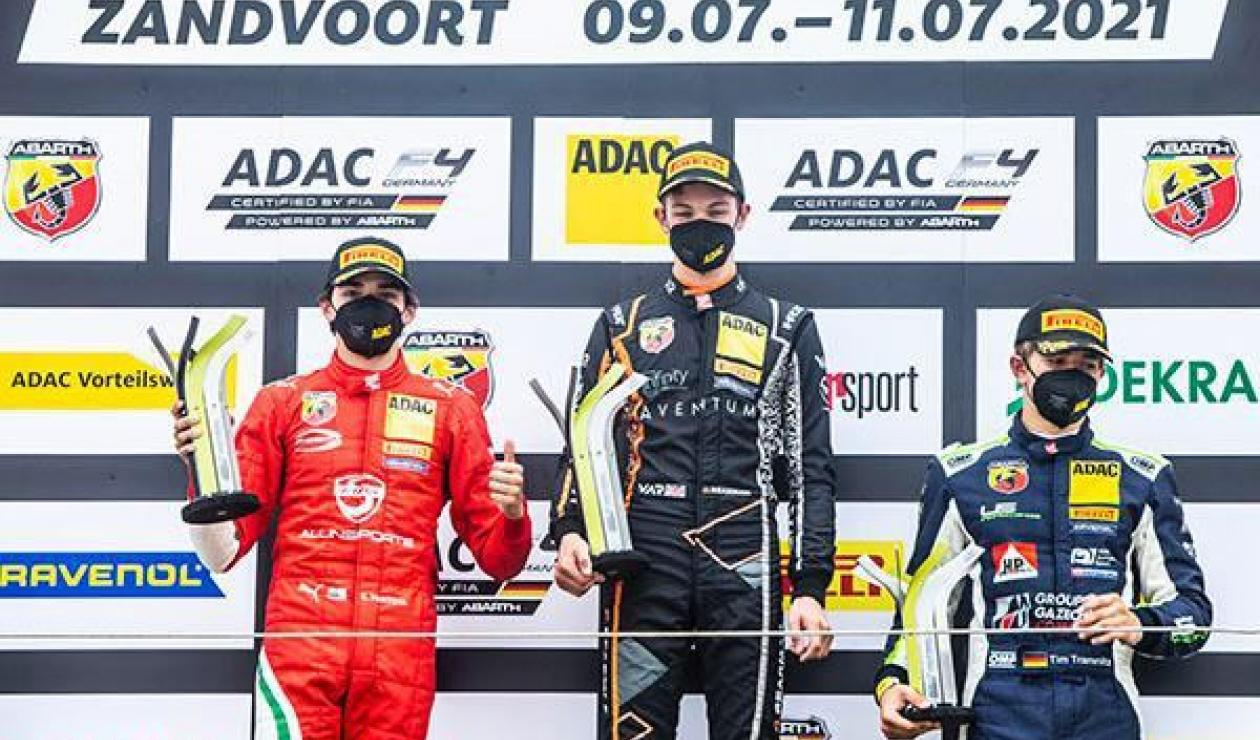 Sebastián Montoya, podio en Holanda