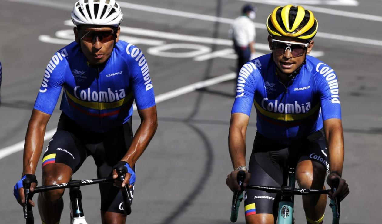 Nairo Quintana y Esteban Chaves - Juegos Olímpicos