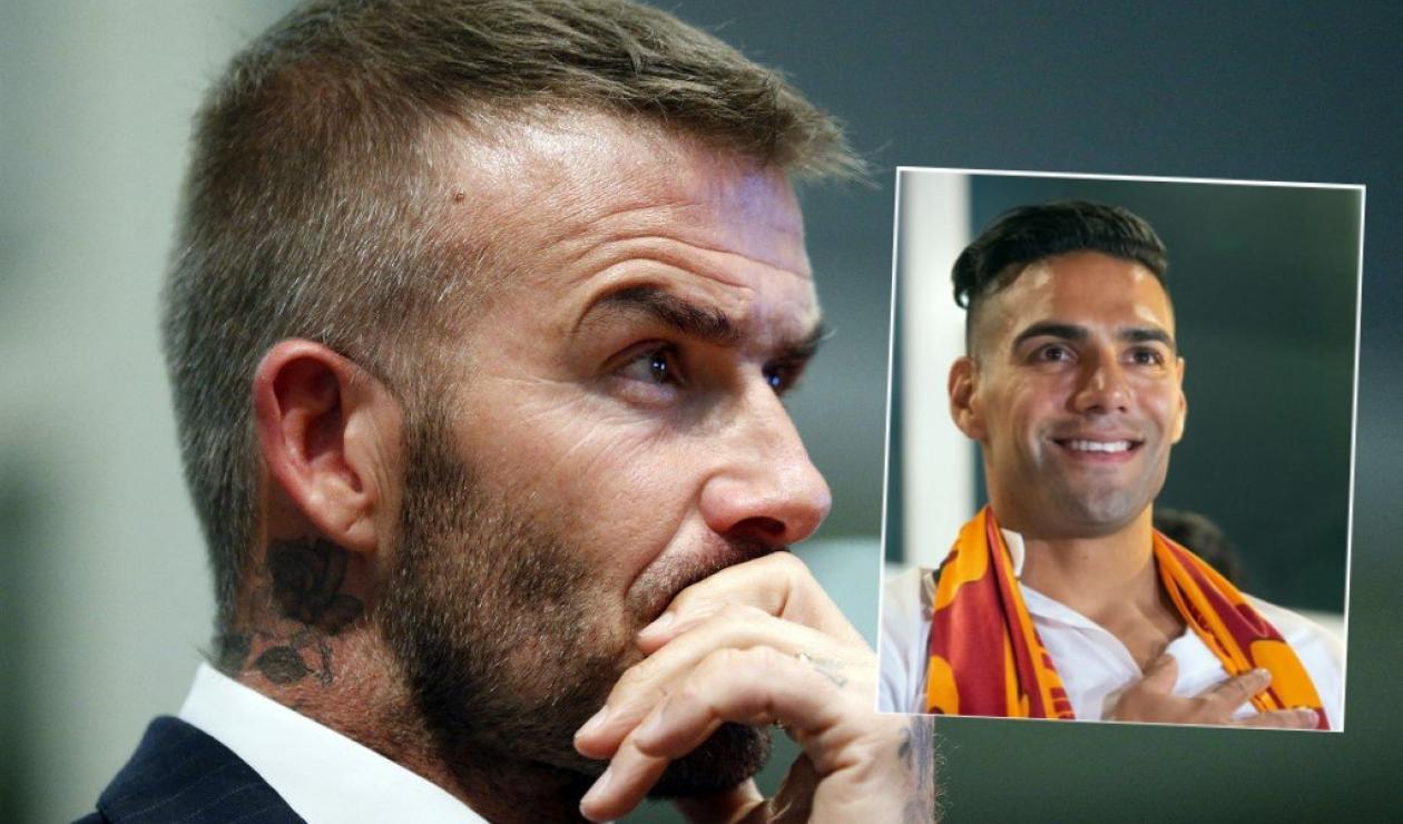 Falcao, David Beckham, MLS, Inter de Miami