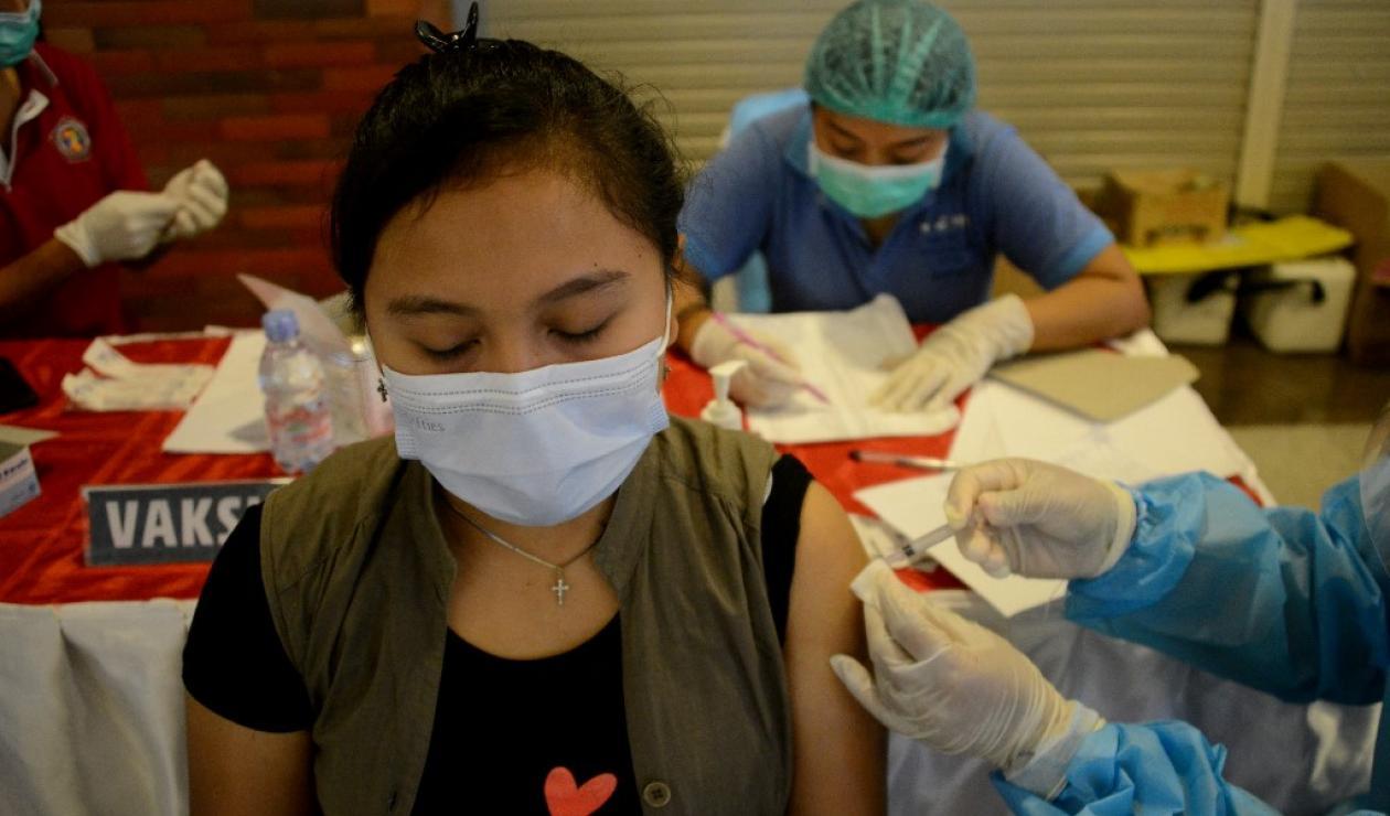 Vacunación en Medellín