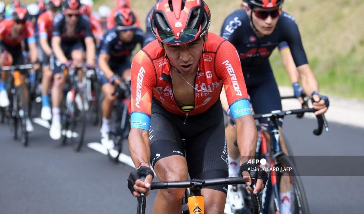 Santiago Buitrago, ciclista colombiano del Bahrein
