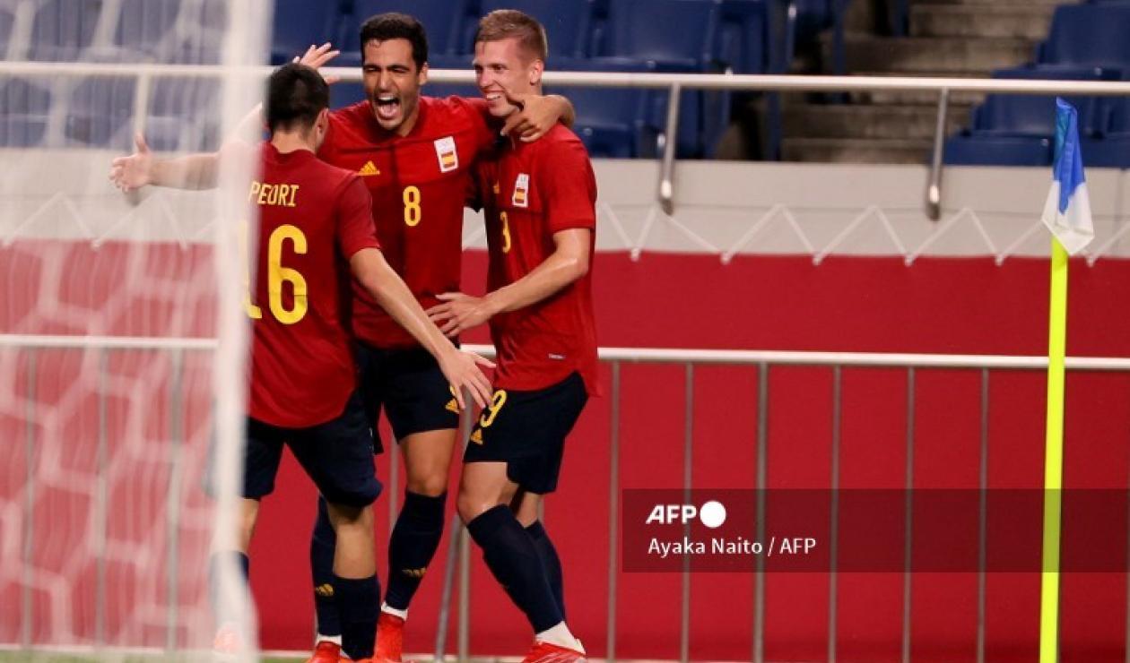 España, fútbol olímpico