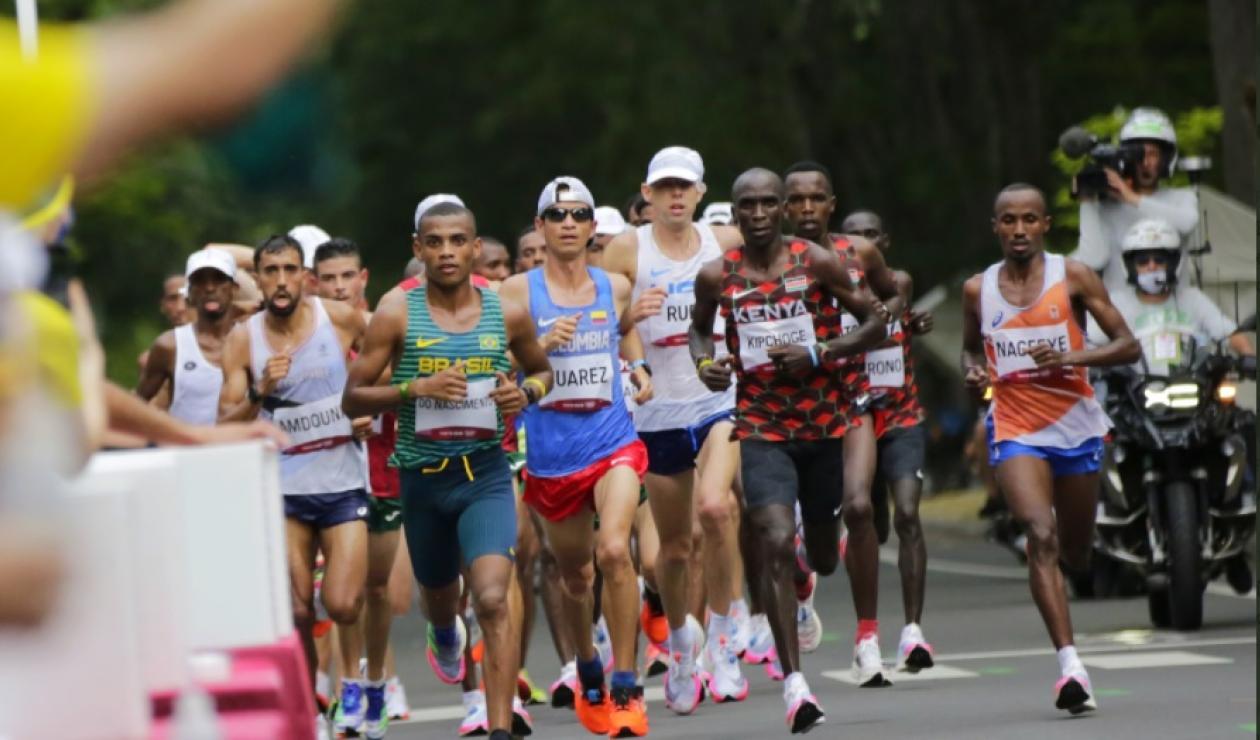 Jeisson Suárez, atleta colombiano