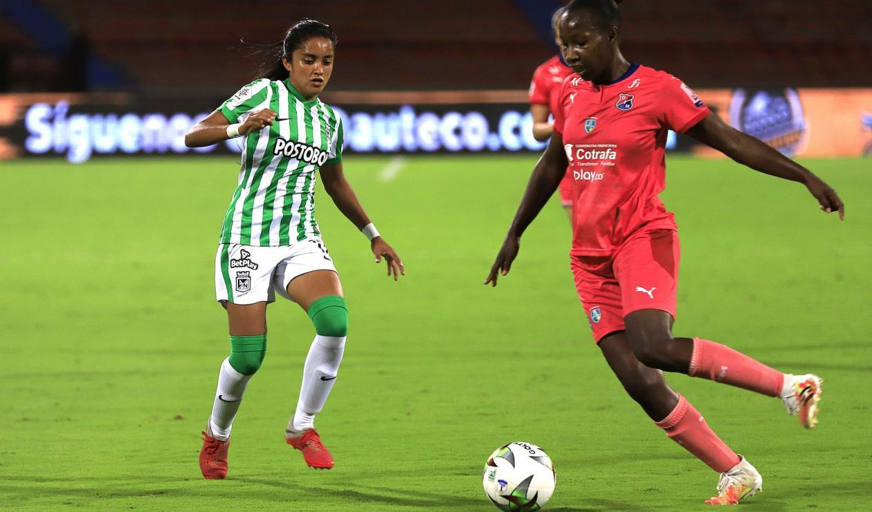 Atlético Nacional vs Medellín - femenino 2021-II