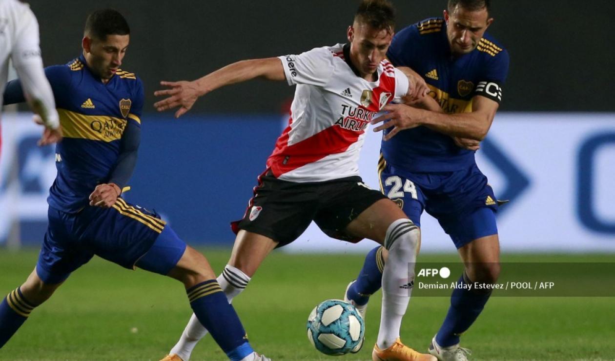 Boca Juniors vs River Plate 2021-II