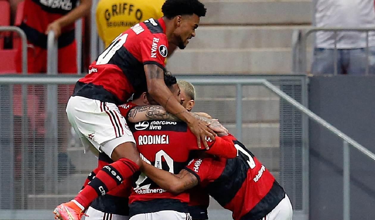 Flamengo está en semifinales de la Copa Libertadores