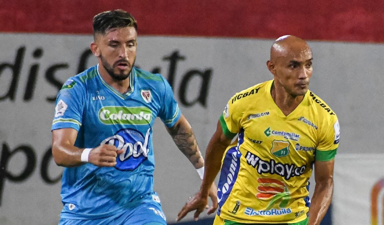 Jaguares vs Atlético Huila 2021-II