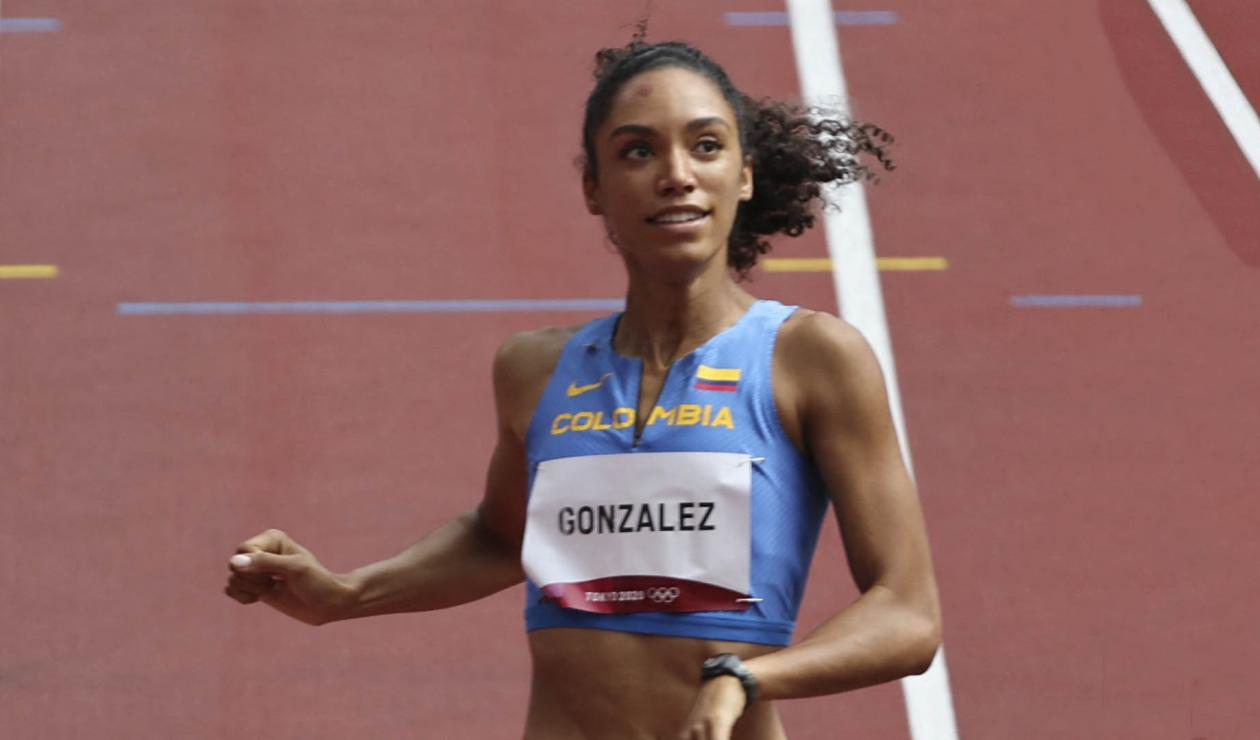 Melissa González, atleta colombiana
