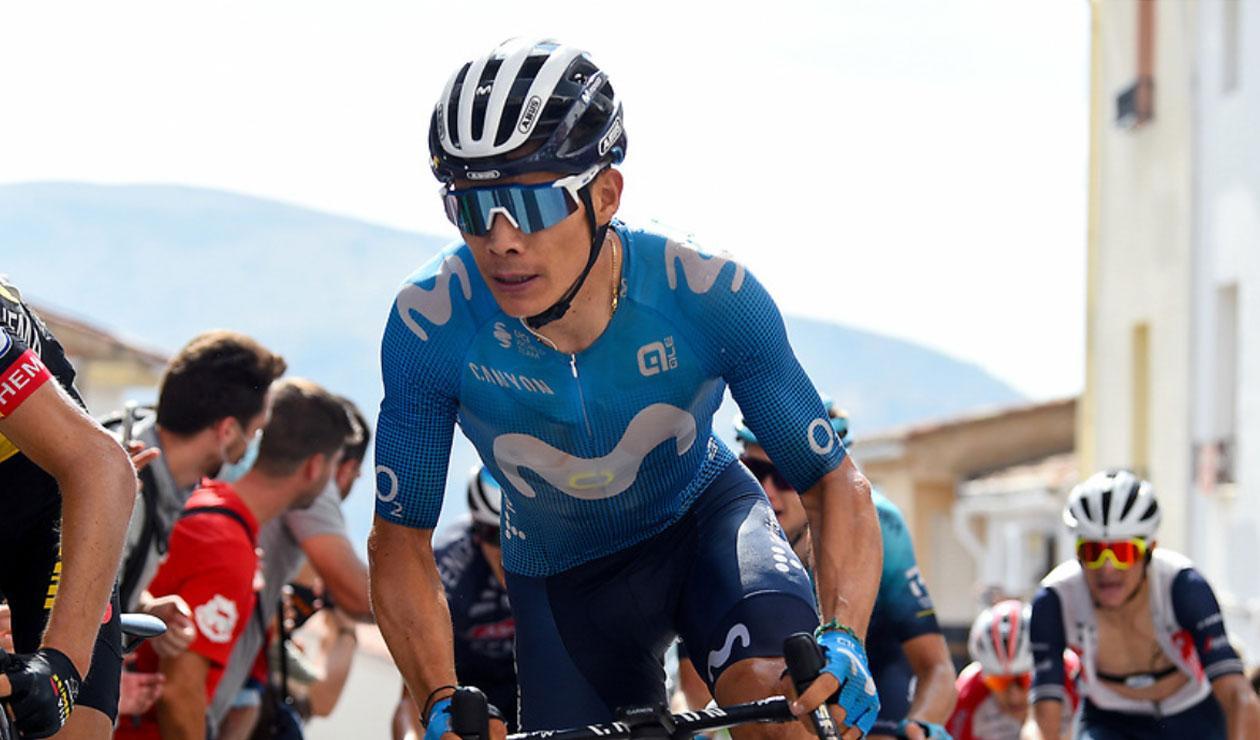 Miguel Ángel López, Movistar, Vuelta a España