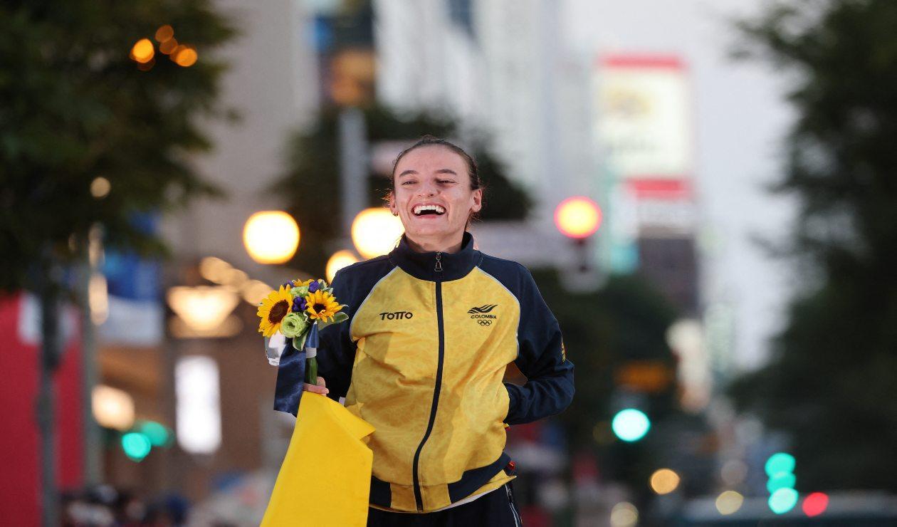 Sandra Lorena Arenas, medallista de plata en Tokio 2020